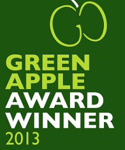 Green Apple Award Winner 2013